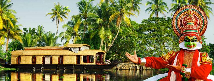 Exotic Kerala with Backwater